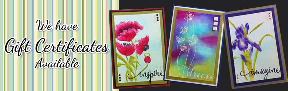 Gift Certificates Scrapbook Central BC