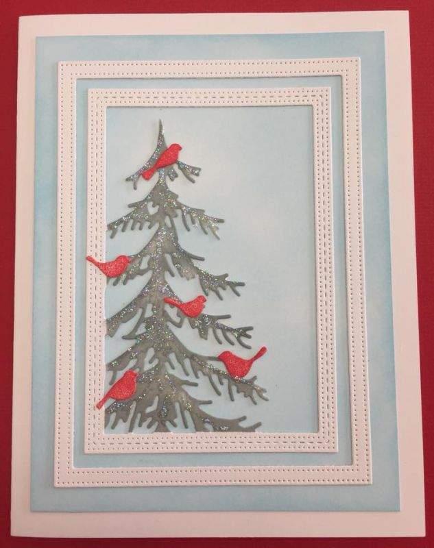 Diecut Christmas Card Class - Scrapbook Central